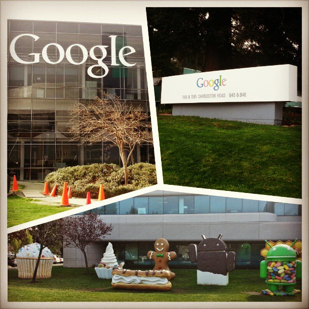 Visiting #google #android offices!