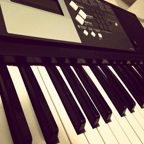 New hobbies #piano #music