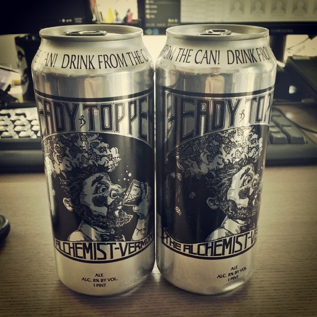 Worlds #1 rated beer shipped all the way from east coast! #headytopper