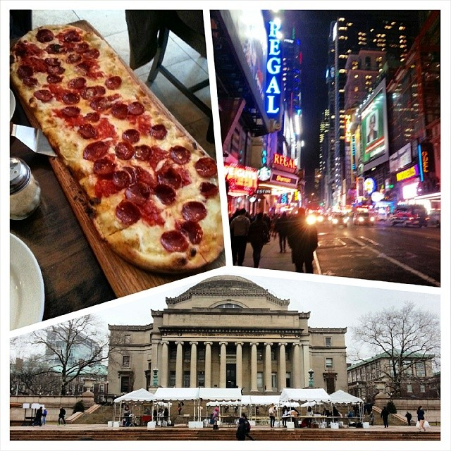 Adventures in NYC. Thank you @ciaoblue for showing me a great time!