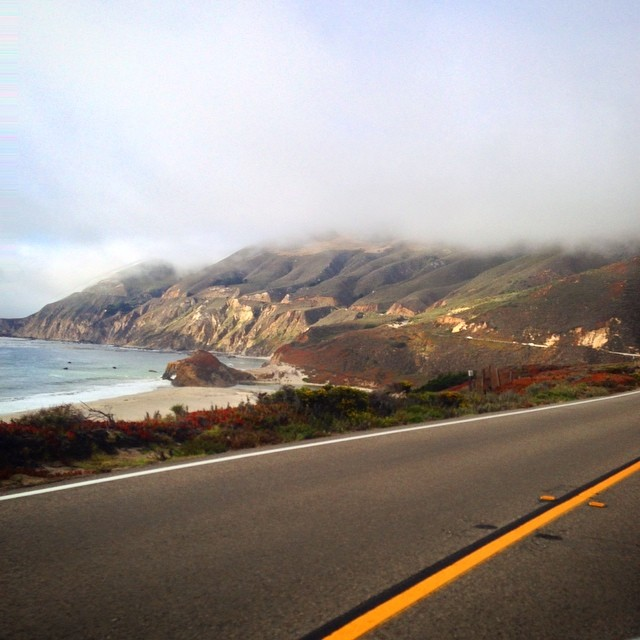 One of the most scenic and fun roads! #pch #bigsur #monterey #carmel